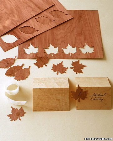 Wood seating cards debeesbuzz for Thin wood sheets for crafts